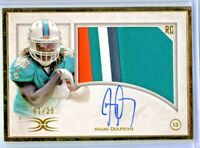 JAY AJAYI 2015 TOPPS DEFINITIVE GOLD FRAME 4 COLOR RPA PATCH AUTO ROOKIE 1/25