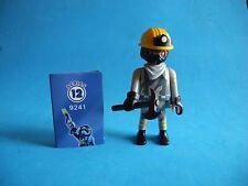 Playmobil Figures series 12 Boys Minero con hacha Miner  axe Bergarbeiter   9241