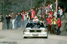 Opel Ascona B 400 1982 -Rohrl & Geistdorfer- winners Rally Monte Carlo '82-photo