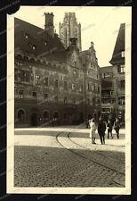 Foto-Ulm-Gebäude-Architektur-Soldat-Offizier-Beobachterabzeichen-1.WK-1941-46
