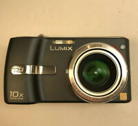 Panasonic LUMIX DMC-TZ1 5.0MP Digital Camera - Black Working  (No Charger)