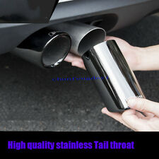 2x Black Exhaust Muffler Tail Pipe Tip Tailpipe for Audi A1 A3 A4 Q5 2012-2017