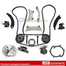 For 07-15 Buick Pontiac Cadillac SRX Saab Suzuki 3.6 Timing Chain Water Pump Kit