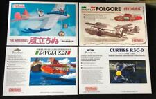FINE MOLDS PORCO ROSSO CURTISS R3C-0, SAVOIA S21 & FOLGORE + 1:48 THE WIND RISES
