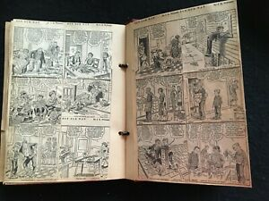 VINTAGE * Out Our Way Comic strips in SCRAPBOOK * plus Little Eva comic strips