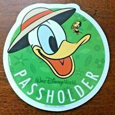 Disney World PASSHOLDER Flower & Garden Show 2020 DONALD...