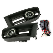 Fog Light Grille LED Angel Eyes with Wiring for VW POLO 2001-2004