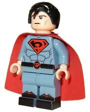 **NEW** Custom Printed - SUPERMAN: RED SON - DC Universe Redsun Block Minifigure