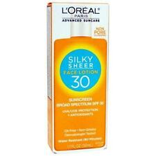 L'Oreal Paris Advanced Suncare Sunscreen SPF 30 Silky Sheer Face LotionB2G 1FREE
