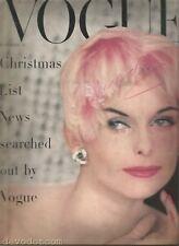 Vogue  November 1955 - Furs - Resort Wear - John Huston - Elizabeth Bowen