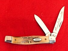 Case XX USA 1989 Bradford Centennial Limited Edition STAG 53032 Texas jack knife