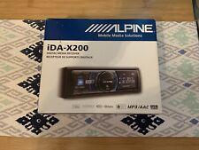 Alpine Model: iDA-X200 Car Stereo Radio Digital Media Receiver