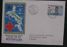 Red Cross Seychellois Stamps (Pre-1976)