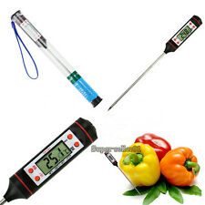 Food Safety Thermometer Digital Probe Type Barbecue Oil Thermometer Kitchen Tool