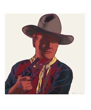 Andy Warhol Cowboys Indianer John Wayne Poster Bild Kunstdruck 36x28cm Portofrei