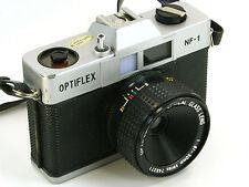 Vintage Optiflex NF-1 Film Camera w/ Optiflex Color Optical 50mm 1:6 Glass Lens