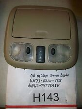 FORD Dome Map Reading Light Lamp W Compartment  6H6354519A58  6N73BLW1TB  #H143+