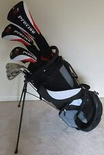 New listing NEW Mens Complete Golf Club Set Driver Wood Hybrid Irons Putter Bag Right Handed