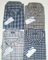 NEW MENS KING SIZE FITZGERALD (MARK) S/SLEEVE SHIRTS 2XL,3XL,4XL,5XL,6XL,7XL,8XL