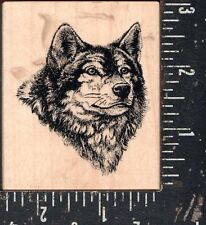 PSX Wood Mounted Stamp G-1855 Wolf