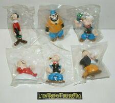 ++ lot des 6 figurines du dessin animé POPEYE / 1993 ARTOY NEUF jamais déballé +
