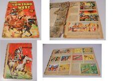 ALBUM LONTANO WEST N.2 ORIGINALE COMPLETO ED. DARDO 1963