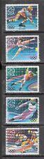 16th WINTER OLYMPICS Albertville, France #2611-2615 Used U.S. 1992 29c Stamp Set