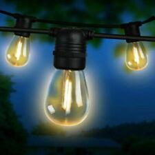 Jingle Jollys 95m Festoon String Lights 100 Bulbs Kits