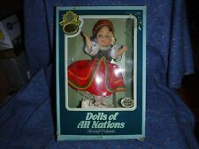 s. Bookshelf Collectibles Dolls of All Nations Czecho-Slovakia 146 Appears Nrfb