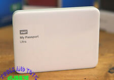 "WD My Passport Ultra Portable 2.5"" 1TB External USB 3.0 HDD - White NEW INBOX"