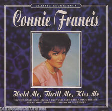 CONNIE FRANCIS - Hold Me, Thrill Me, Kiss Me (EU/UK 20 Tk CD Album) (Sld)