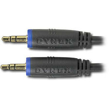 Get 2 Dynex Dx-Mp353B 3' Ft. 3.5mm Gold-plated Stereo Extension Cable