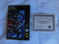 Spawn Batman 1 Image 1994 NM- Signed Frank Miller Dynamic Forces DF COA