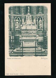 Italy BOLOGNA Tomba di S Domenico c1902 u/b PPC