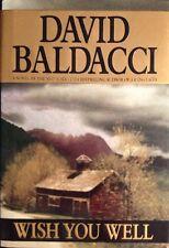 �� Wish You Well David Baldacci HardBack Book NEW True 1st First Ed VF family ��