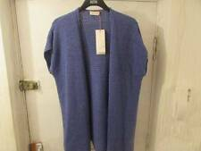 SIZE 20 PER UNA LONG SLEEVELESS CARDIGAN MARKS AND SPENCER