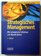 Strategisches Mangagement Müller-Stewes Lechner 2. Aufl SEHR GUT