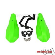 "Green 7/8"" Motorcycle Handlebars Hand Guard Raptor Universal For Dirt Bike ATV"