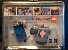 Digital Photo Album with Keychain Stores 60 Color Images USB INCLUDED