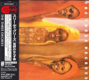 THE THREE DEGREES - The Three Degrees  (CD 1997)   JAPAN IMPORT