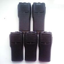 Lot 5 new Repair front Housing cover For Motorola Cp200 walkie talkie in Black