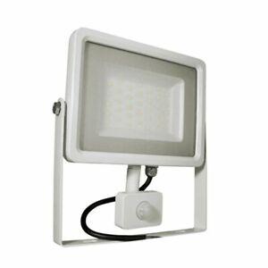 Projecteur LED extérieur 50w 4000 lumens IP65 3000K avec detecteur de mouvement