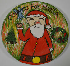 Cookies For Santa Plate Christmas Village Kid's Collection