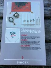 Singer 6268 SewWare Embroidery Cartridge No. 5 ( Holiday)