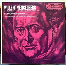 WILLIAM MENGELBERG bach / mozart / beethoven LP VG+ CAL-347 RCA Camden 1s/1s US