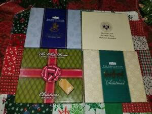 White House Historical Assoc Christmas Ornaments In Boxes 1996 2001 2003 2012