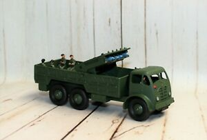 *REFURBISHED* CODE 3 DINKY 10-TON TRUCK MISSILE LAUNCHER WITH 5 MISSILES.