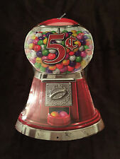 """RETRO COLLECTIBLE METAL SIGN """"GUMBALL MACHINE"""" (GUMBALLS/BUBBLE GUM/CANDY)"""