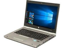 "HP 8470p 14.0"" Laptop Intel Core i5 3rd Gen 3320M (2.60 GHz) 320 GB HDD 4 GB Mem"