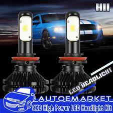 H11 LED Headlight Bulbs Fog Light Kit for Nissan Altima 2005-2006/2009/2014-2015